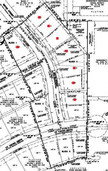 Patriot Place: Community Plat Map
